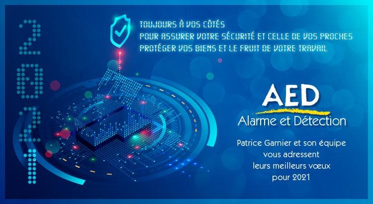 aed alarme et détection - voeux 2021